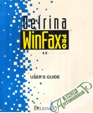 Obal knihy Delrina WinFax 4.0 - User´s Guide