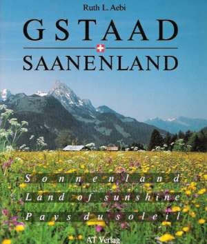 Obal knihy GSTAAD - SAANENLAND