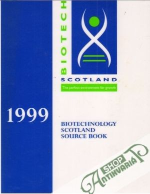 Obal knihy The Biotechnology Scotland Source Book 1999