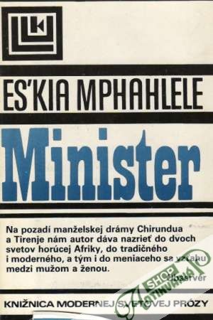 Obal knihy Minister