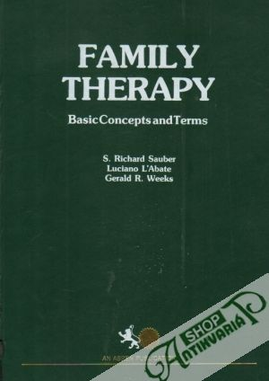 Obal knihy Family Therapy: Basic Concepts and Therms