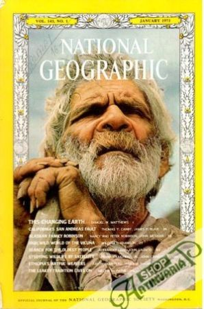 Obal knihy National Geographic 1/1973