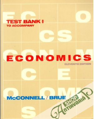 Obal knihy Test bank I to accompany economics - eleventh edition