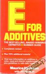 Hanssen M., Marsden J. - E for additives