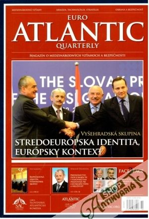 Obal knihy Euro Atlantic Quarterly november 2010