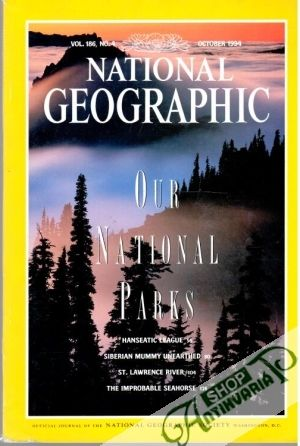Obal knihy National Geographic 10/1994