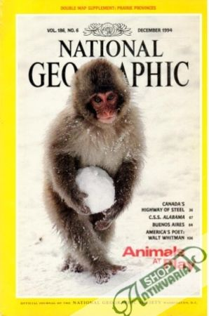 Obal knihy National Geographic 12/1994