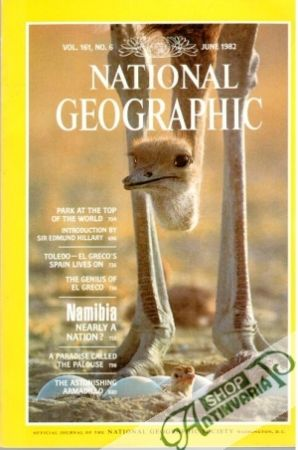 Obal knihy National Geographic 6/1982