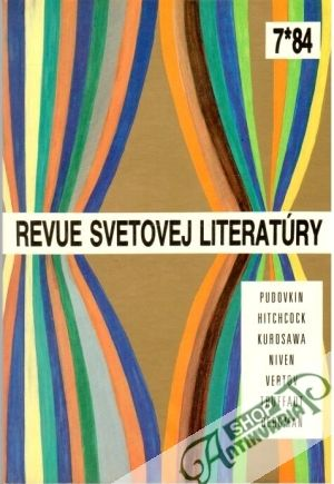 018a8314c Kniha - Revue Svetovej literatúry 7/1984