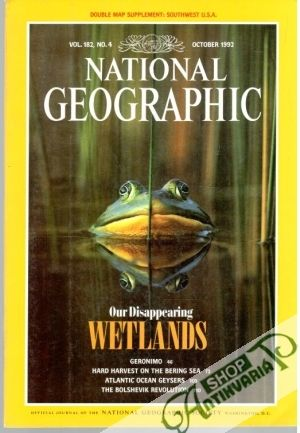 Obal knihy National Geographic 10/1992