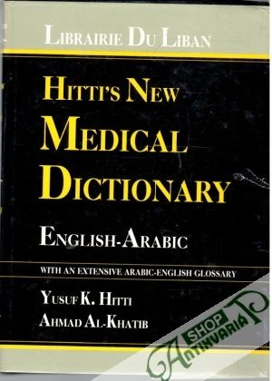 Obal knihy Hitti's New Medical Dictionary