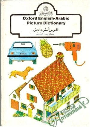 Obal knihy Oxford English - arabic picture dictionary