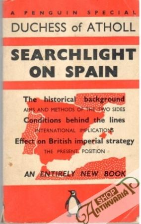 Obal knihy Searchlight on Spain