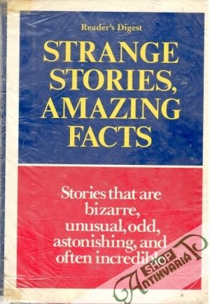 Obal knihy Strange stories, amazing facts