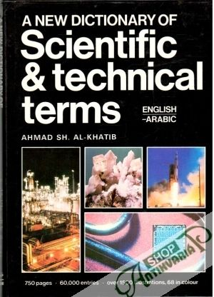 Obal knihy A new dictionary of scientific and technical terms