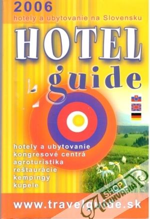 Obal knihy Hotel guide 2006