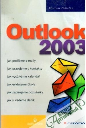 Obal knihy Outlook 2003