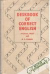 West Michael, Kimber P.F - Deskbook of correct english