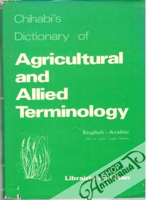 Obal knihy Agricultural and allied Terminology