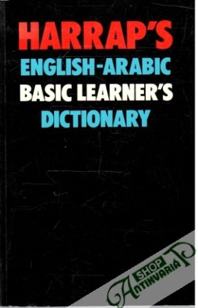Obal knihy Harrap's English-Arabic Basic Learner's Dictionary