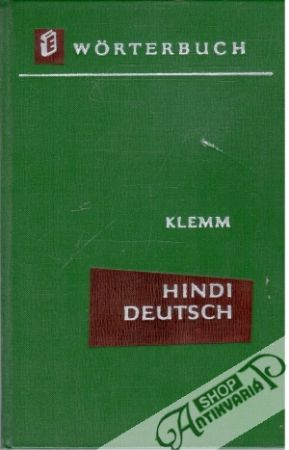 Obal knihy Hindi-Deutsches Wörterbuch