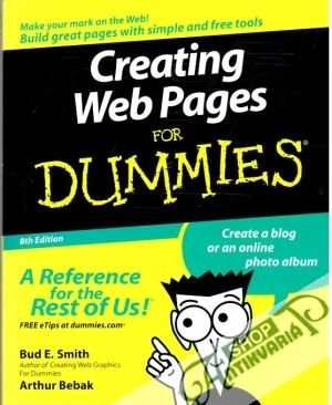 Obal knihy Creating web pages for dummies