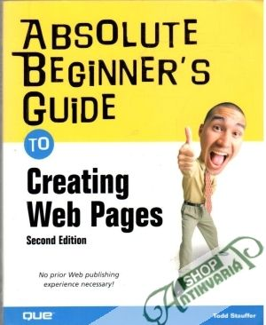 Obal knihy Absolute beginner´s guide to creating web pages