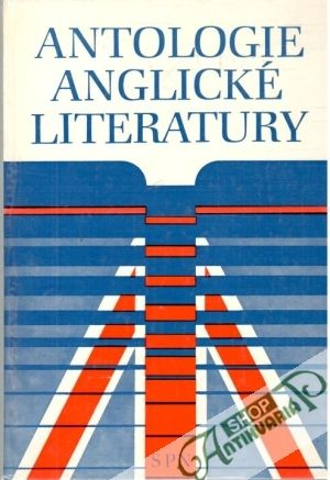 Obal knihy Antologie anglické literatury