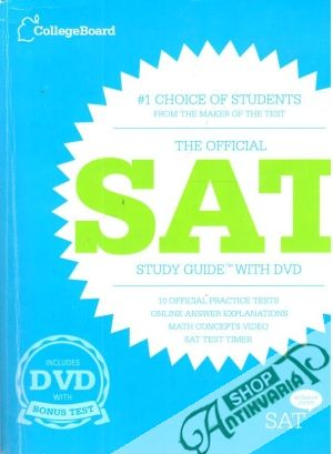 Obal knihy The Official SAT Study Guide with DVD