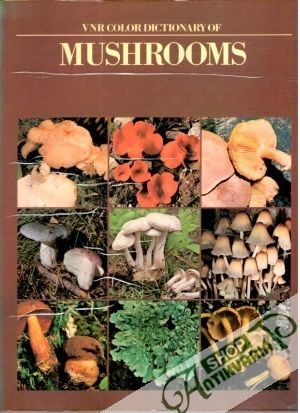 Obal knihy VNR color dictionary of mushrooms