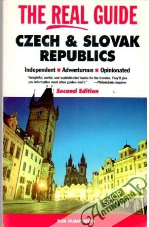 Obal knihy The real guide the Czech and Slovak republics