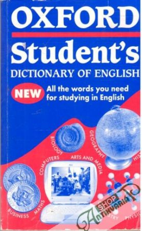 Obal knihy Oxford Student's Dictionary of English