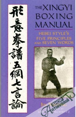 Obal knihy The Xingyi Boxing Manual