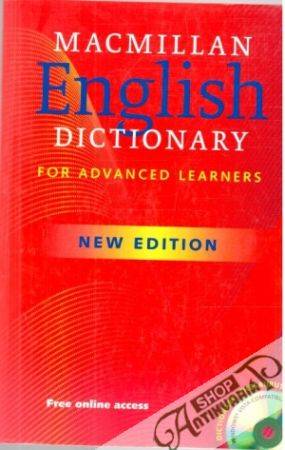 Obal knihy Macmillan english dictionary for advanced learners