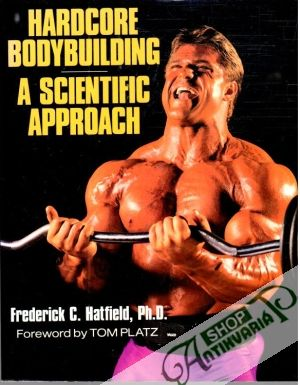 Obal knihy Hardcore bodybuilding, A scientific approach