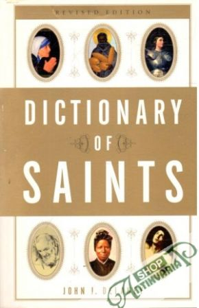 Obal knihy Dictionary of saints