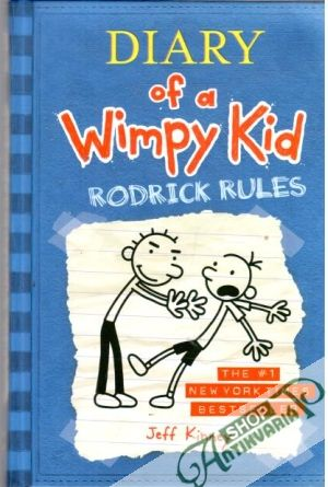 Obal knihy Diary of a Wimpy Kid - Rodrick Rules