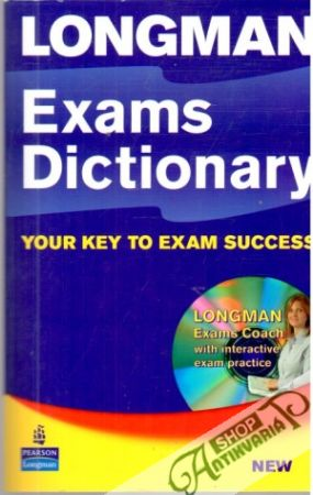 Obal knihy Longman exams dictionary