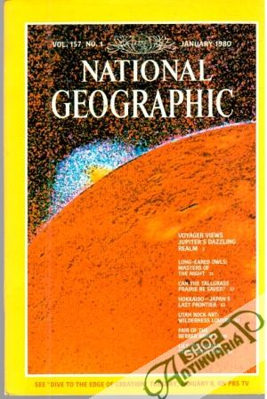 Obal knihy National geographic 1-12/1980