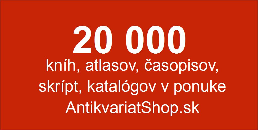 20000 titulov v antikvariatShope
